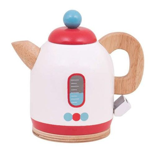 Drewniany czajnik bezprzewodowy do zabawy dla dzieci