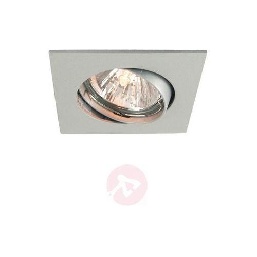 Lampa sufitowa wewnętrzna, matowy srebrny, 6,8 cm
