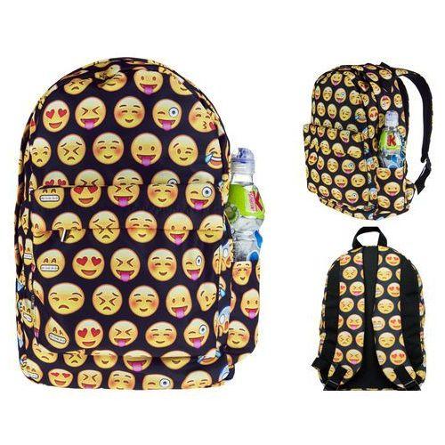 Plecak Szkolny Emotki Emoji Minki Buźki Emotikony T34