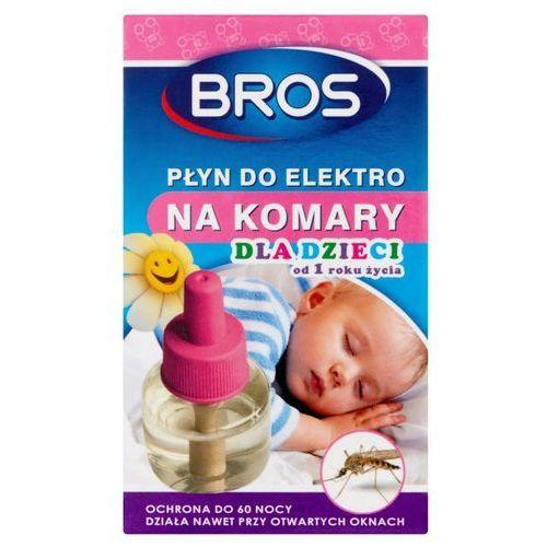 Bros płyn do elektro na komary dla dzieci od 1 roku życia 40ml