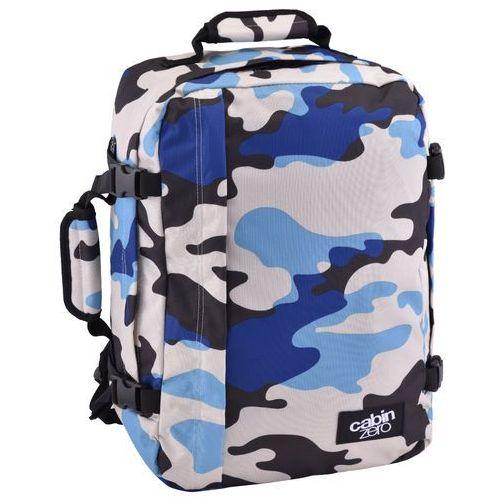 Cabinzero classic 36l torba podróżna podręczna / kabinowa / plecak / blue camo - blue camo