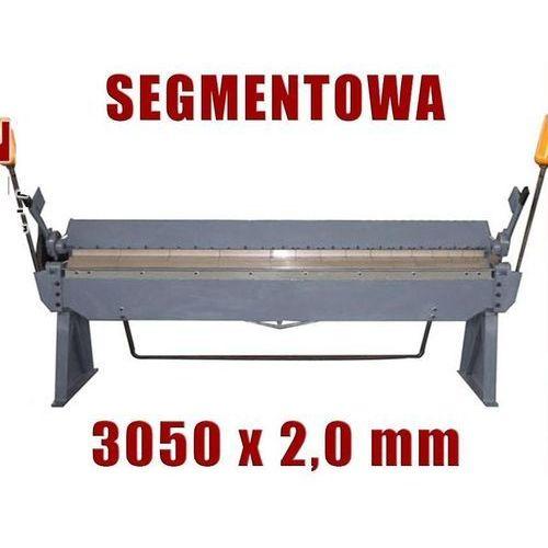 Maktek Zaginarka giętarka segmentowa do blachy 3050mm x 2 mm ewimax