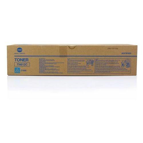 oryginalny toner Konica Minolta TN-612C [A0VW450] cyan, A0VW450