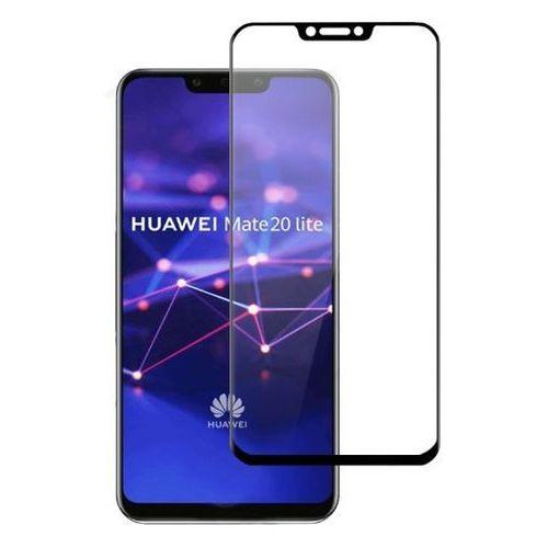 Szkło 3D WG do Huawei Mate 20 Lite Czarny