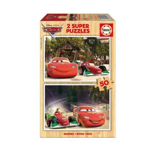 2x50 elementów cars - auta marki Educa