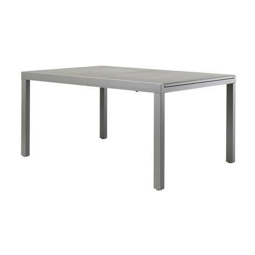 Goodhome Stół rozkładany baradal aluminiowy