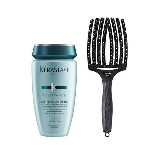 force architecte bain 250ml + olivia garden finger brush large marki Kerastase