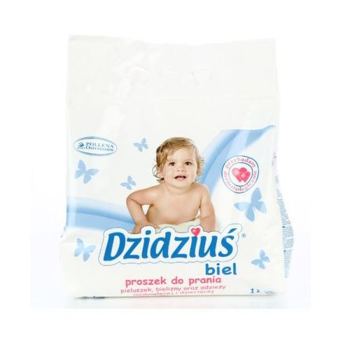 DZIDZIUŚ 1,5kg Biel Proszek do prania dla dzieci (11 prań)