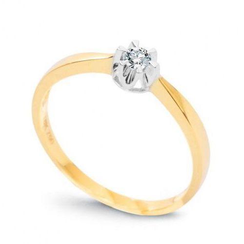 Złoty pierścionek pxd1517 - diament marki Staviori