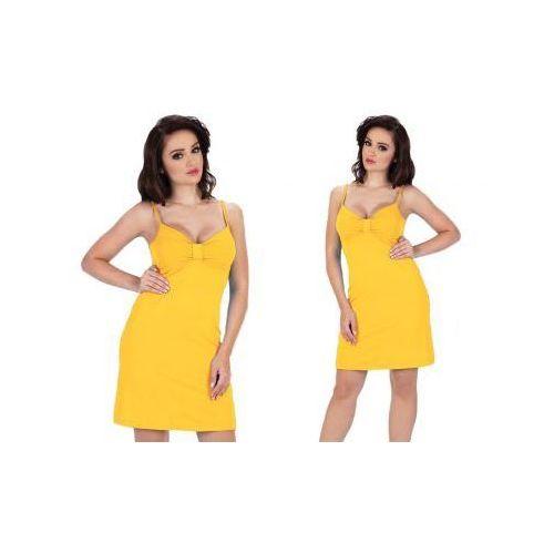 Koszula nocna afra: żółty marki De lafense