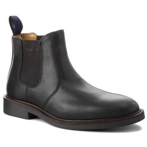 Sztyblety - spencer 17651886 black g00 marki Gant
