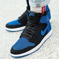 air jordan 1 retro hi flyknit (919704-006), Nike