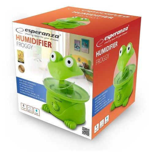 Nawilżacz powietrza froggy eha006 kolor zielony- natychmiastowa wysyłka, ponad 4000 punktów odbioru! marki Esperanza