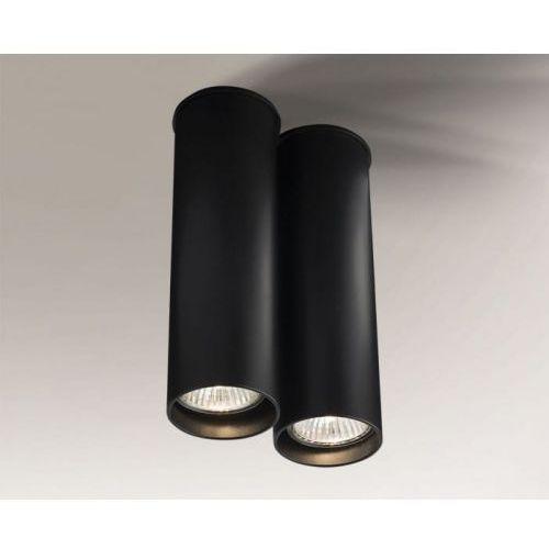 Arida Tuba Shilo 1113/GU10/CZ 20/13cm czarny