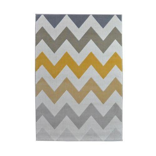 Balta rugs Dywan scandinavia żółty 160 x 230 cm wys. runa 7.5 mm