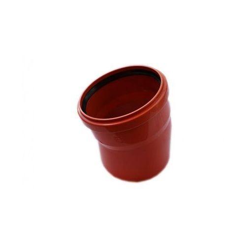 Kolano kanalizacji zewnętrznej 160 mm/15° marki Poliplast