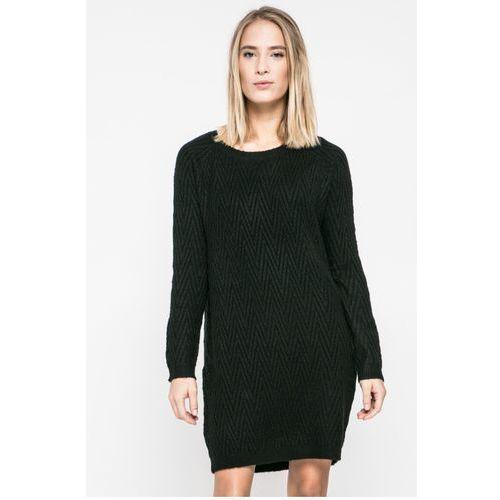 Vero Moda - Sukienka Posh, kolor czarny
