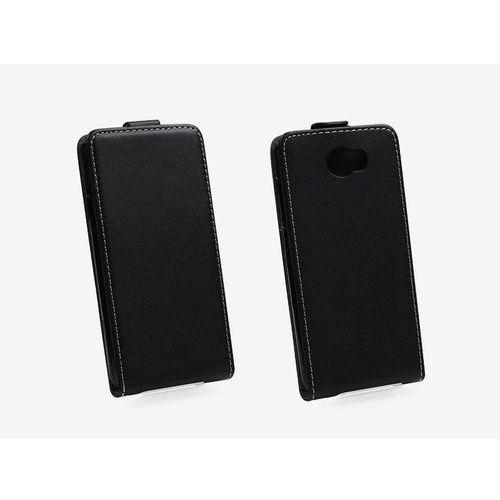 Huawei Y6 II Compact - etui na telefon Forcell Slim Flexi - czarny