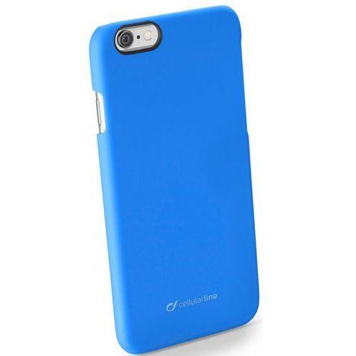 Etui CELLULAR LINE Rigid Satin do Apple iPhone 6/6S Niebieski