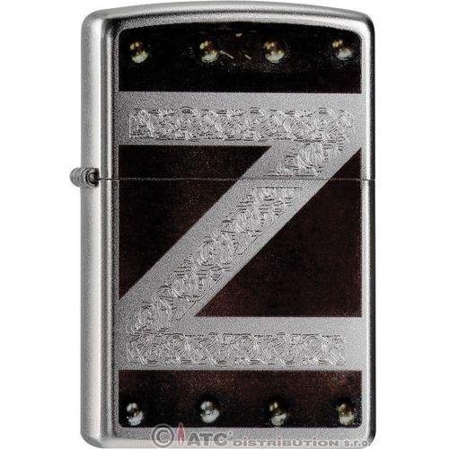 Zapalniczka zippo classic z logo, satin chrome (z20940) marki Zippo / usa