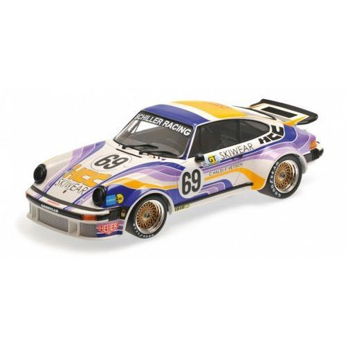 Minichamps Porsche 934 schiller racing team #69 haldi/vetsch 24h le mans 1976 (4012138142466)