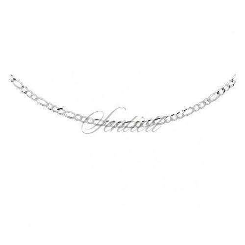 Silver (925) diamond-cut chain - figaro extra flat Ø 060 - FIEX60_R, FIEX60_R