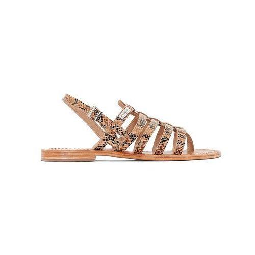 Skórzane sandały japonki herisson marki Les tropeziennes par m.belarbi