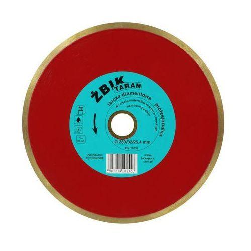 In corpore Tarcza diamentowa żbik taran do gresu / ceramiki 230 x 32/25,4mm /