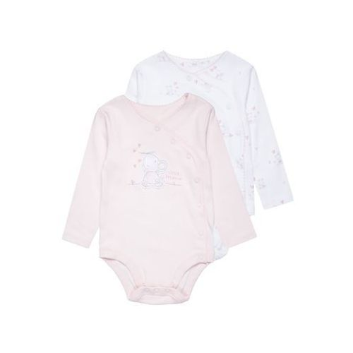 mothercare WRAP GRAPHIC BABY 2 PACK Body barely pink
