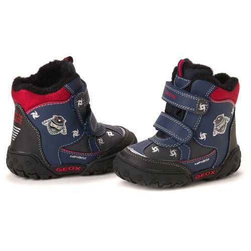 Geox buty za kostkę chłopięce 22 ciemny niebieski, kup u jednego z partnerów