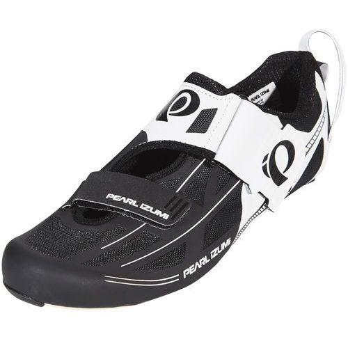 Pearl izumi tri fly elite v6 buty mężczyźni biały/czarny 44 2018 buty rowerowe