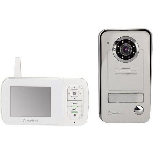 Wideodomofon 1373174, kompletny zestaw, interkom drzwiowy z wideo, dom jednorodzinny marki Renkforce
