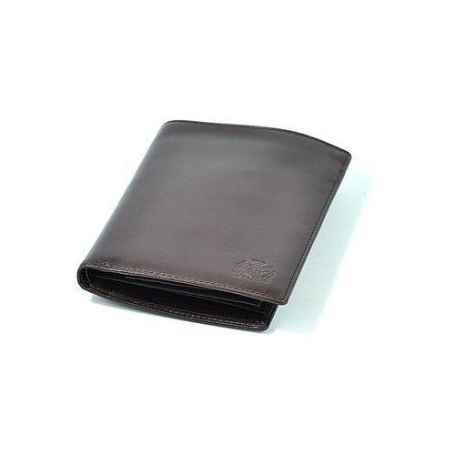 Portfel męski  21 1-119 ciemny brąz - czarny ||ciemny brąz marki Wittchen