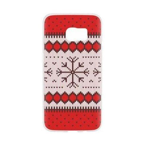 Etui FLAVR Case Ugly Xmas Sweater do Samsung Galaxy S7 Czerwony (27384), kolor czerwony