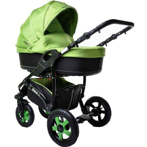 wózek wielofunkcyjny ibiza 2w1, zielony marki Sun baby
