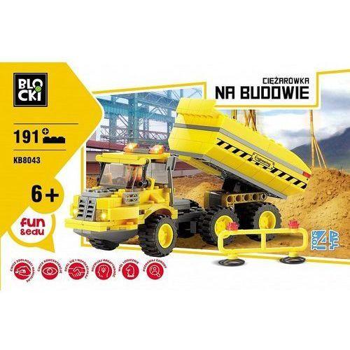 Klocki Blocki Na budowie Ciężarówka 191 elementów