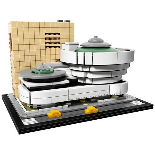 21035 - Muzeum Solomona R. Guggenheima (Solomon R. Guggenheim Museum) KLOCKI LEGO ARCHITECTURE