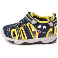 Geox  sandały chłopięce multy 22 niebieski (8051516523189)