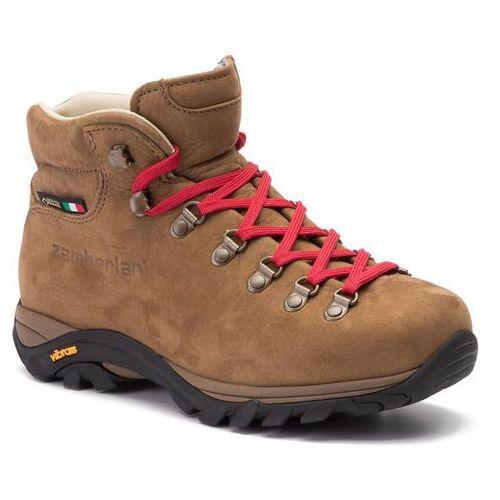 Trekkingi - new trail lite evo gtx gore-tex brown marki Zamberlan