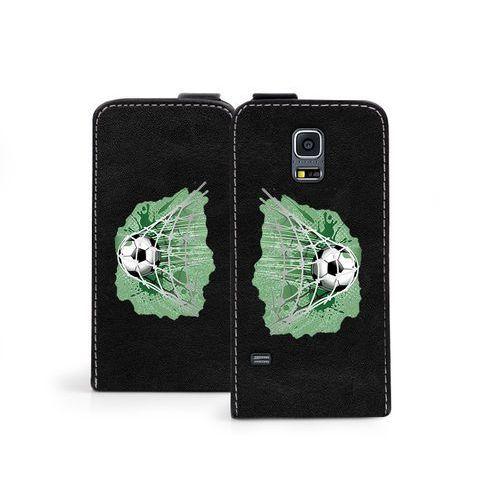 Samsung Galaxy S5 Mini - etui na telefon Flip Fantastic - piłka nożna, ETSM119FLFCEF030000