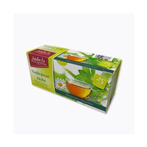 Westminster herbata ziołowa beste krauter 25 saszetek
