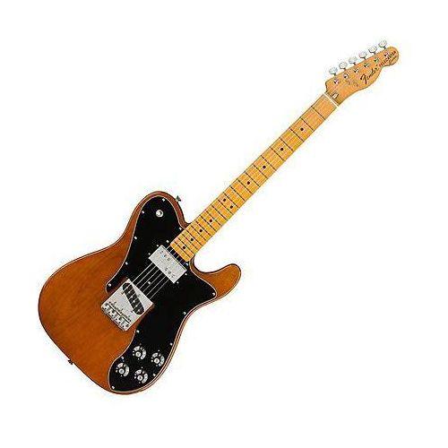 american original 70s telecaster custom mocha gitara elelektryczna marki Fender