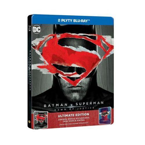 BATMAN VS SUPERMAN: ŚWIT SPRAWIEDLIWOŚCI (2BD) ULTIMATE EDITION STEELBOOK (7321999342371)