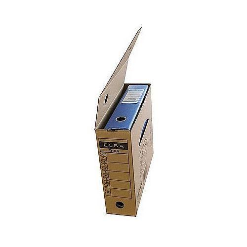 Karton archiwizacyjny TRIC S na segeregator 9,5cm brązowy ELBA 100552625