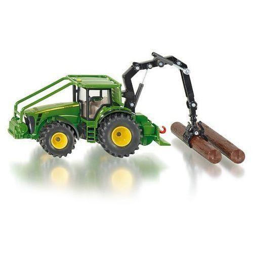 Siku  farmer - traktor leśny john deere