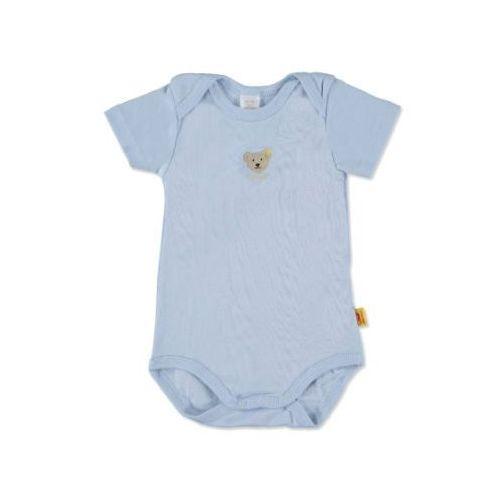 STEIFF Boys Baby Body z rękawem 1/4 baby blue (4048043661778)