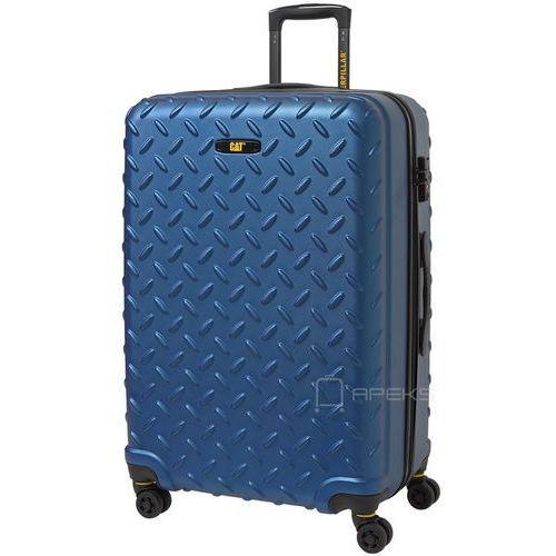 Caterpillar Industrial Plate duża walizka na kółkach 75 cm CAT / niebieska - Sea Blue (5711013056919)