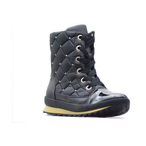 Śniegowce Caprice 9-26204-29 Czarne, kolor czarny