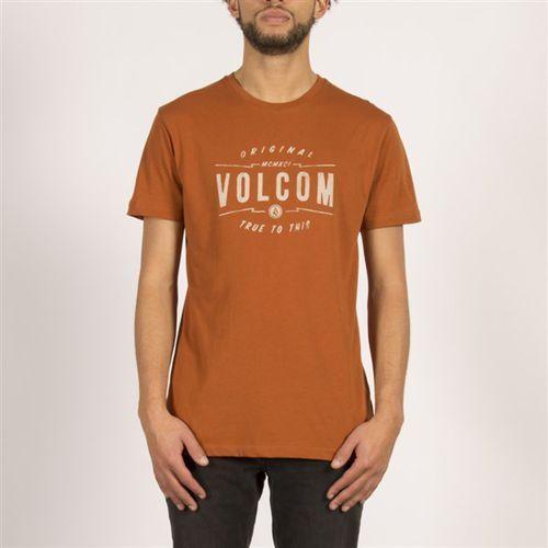 koszulka VOLCOM - Garage Club Lw Ss Copper (COP) rozmiar: L