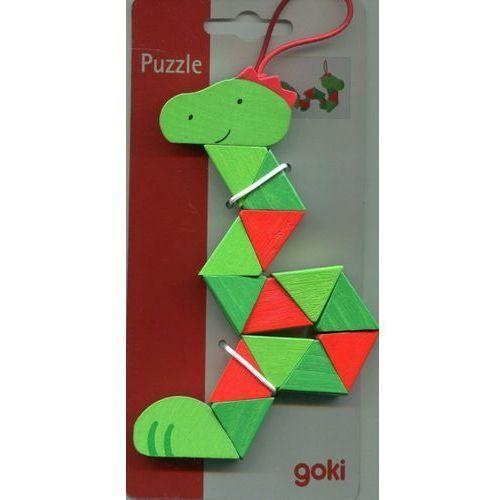 Klocki elastyczne klaun krokodyl wąż mix